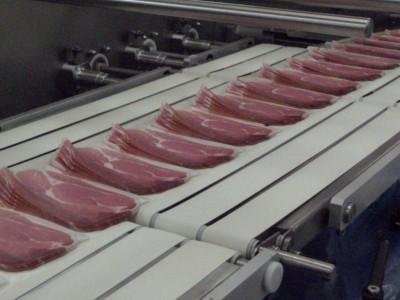 potravinársky pás v prevádzke