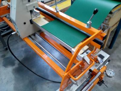 príprava spoja PVC a PU pásov