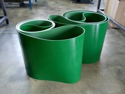 Spojené PVC pásy